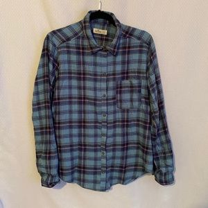 Hollister Plaid Collared Shirt